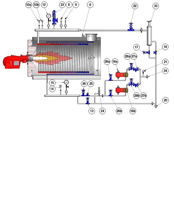 Schnelldampferzeuger | GekaKonus | Hersteller von Thermalölerhitzer ...